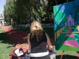 Más de 1.500 artistas 'pintarán' el Retiro