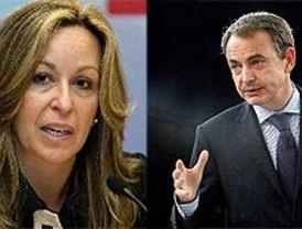 Zapatero convoca a Trinidad Jiménez por la gripe porcina