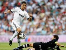 Primera victoria madridista de la Liga