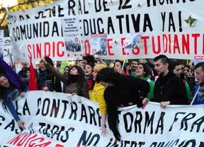 Los estudiantes están convocados a tres días de huelga desde este martes