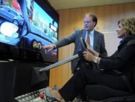 Los madrileños podrán probar un simulador de conducción ecológica