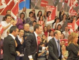Los líderes madrileños apoyan a sus candidatos