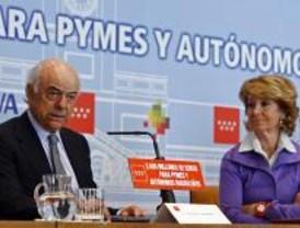 El BBVA lanza un 'flotador' a las pymes con mediación de la Comunidad, la Cámara y CEIM