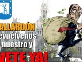 Marcha contra el 'saqueo' de Gallardón