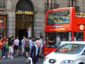 Madrid perderá más de 400.000 euros sin los buses turísticos