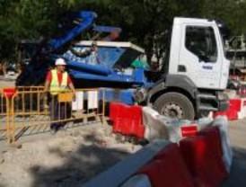 Cortes de tráfico en O'Donnell, Atocha y el Paseo de Recoletos debido a las obras