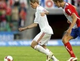 Torres se enfrenta contra el Atlético de Madrid