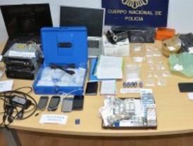 La Policía desmantela un 'chiringuito' de droga en el centro de Madrid