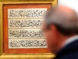 'Líneas en oro' exhibe los tesoros de la caligrafía otomana en Madrid