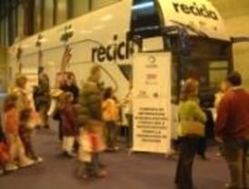 El Autobús del Reciclaje dice adiós