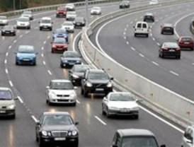 Retenciones en las autopistas por el puente