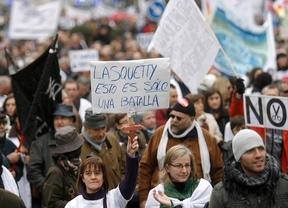 Protesta por las privatizaciones