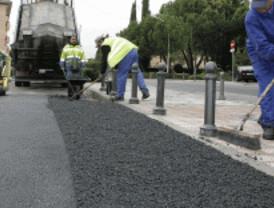 Cortes en seis calles del distrito de Usera por la operación Pavimenta Madrid