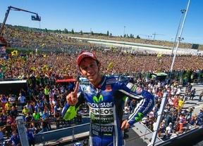 GP de San Marino, Rossi toca el cielo en casa
