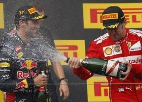 Alonso da una lección de pilotaje y valentía