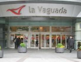 Espectáculo de motoristas en La Vaguada