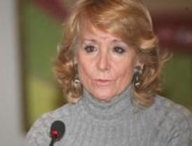 Esperanza Aguirre rechaza