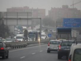 La niebla complica el tráfico