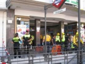 15 heridos leves tras un incendio en un vagón de Metro en Alvarado