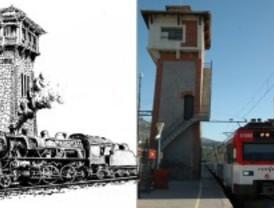 El 'AVE' que llegó a El Escorial en 1861
