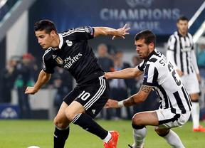 El Real Madrid decepciona en Turín