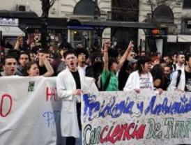Los universitarios anuncian protestas por la subida de las tasas