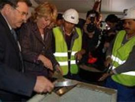 Aguirre pone la primera piedra del Metro a La Fortuna