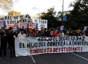 La huelga se hace notar en la educación madrileña