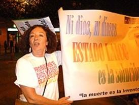La marcha 'antipapa', autorizada solo en Lavapiés