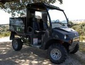 Mejoras en los vehículos dedicados al cuidado del monte de Boadilla