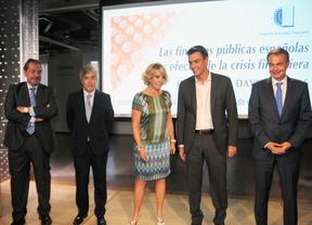 Zapatero y Aguirre, juntos en un homenaje a David Taguas