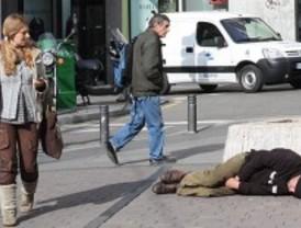 El número de 'sin techo' se estanca en el último año