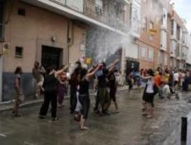 Ochenta mil litros de agua para la Batalla Naval de Vallecas