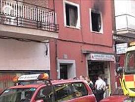 Muere un hombre al incendiarse su vivienda en Latina