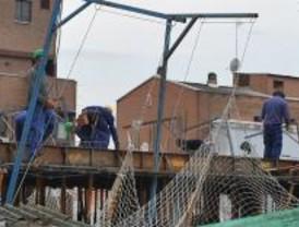 La tasa de parados madrileños en la construcción crece un 91%