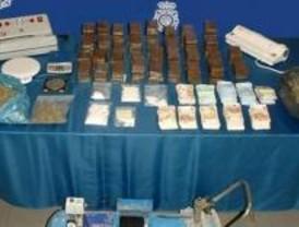 Incautados más de 10 kilos de heroína en Madrid