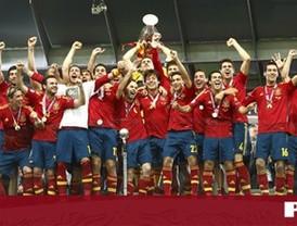 España, triplete y gloria