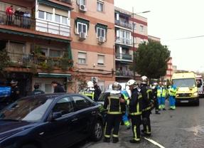 Siete heridos leves en una explosión de gas en Parla