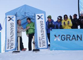 Grandvalira inaugura en competición la pista Àliga con la disputa del primer descenso de la historia de Andorra