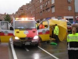 Fallece un hombre atropellado en Usera