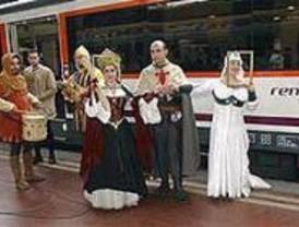 El 'Tren Medieval'  une un año más Madrid y Sigüenza