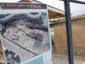 Un poblado de la II Edad del Hierro abre a las visitas