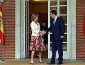 Zapatero recibirá a Aguirre este lunes