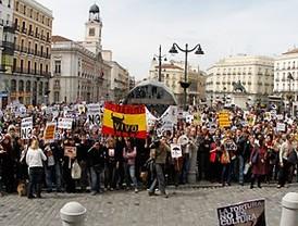 Rebelión en Madrid contra los