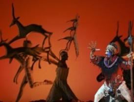 Se estrena el musical El Rey León en el Teatro Lope de Vega