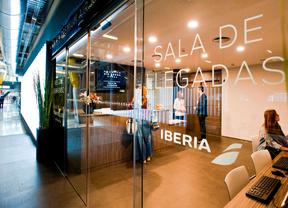 Sala VIP de Iberia, alquilada a Aena