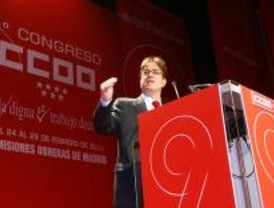 Aguirre da soluciones liberales a la crisis en el IX congreso de CCOO
