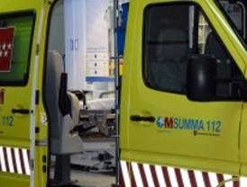 Grave tras un accidente laboral en Arganda