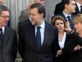 Aguirre se queda como la voz crítica del PP