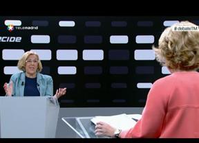 Duro enfrentamiento entre Carmena y Aguirre en el segundo día de debate